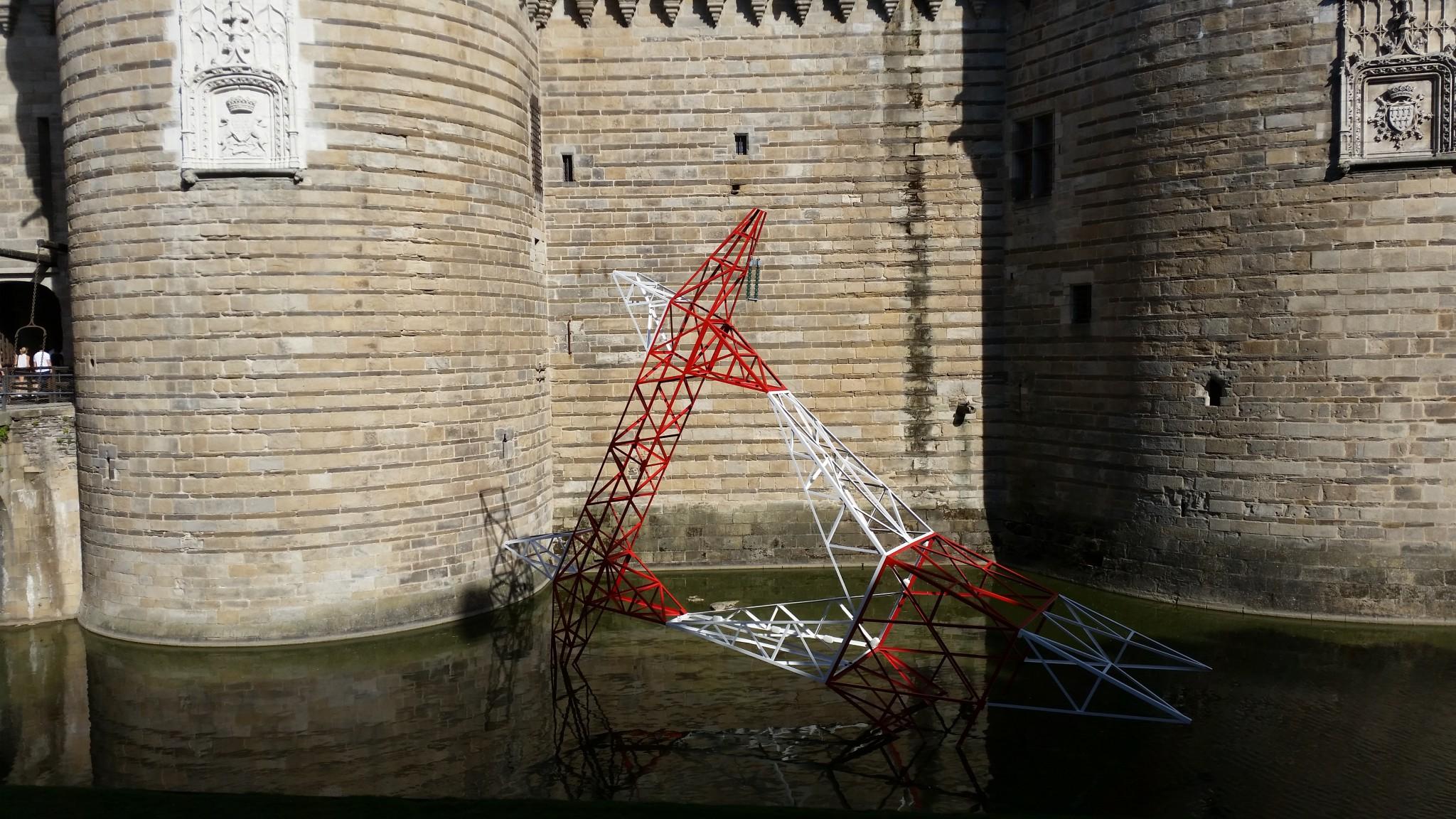 """Installacion artistica dins lo cadre dau """"Voyage à Nantes"""""""