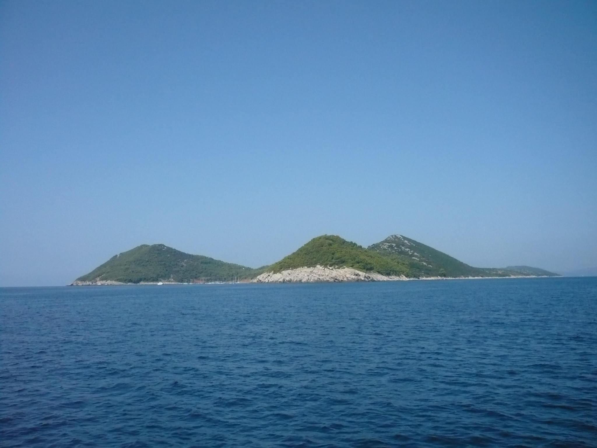 Koločep, ua de las Islas Elafitas