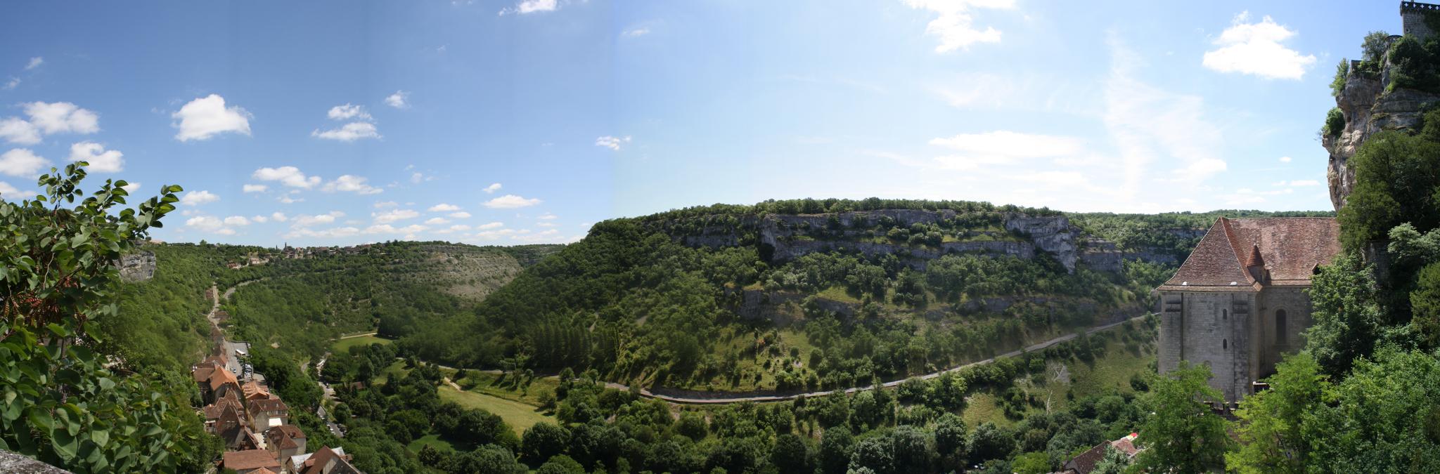 Panorama Rocamadour