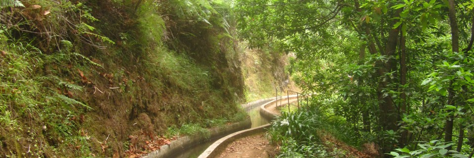 Una levada a Madeira